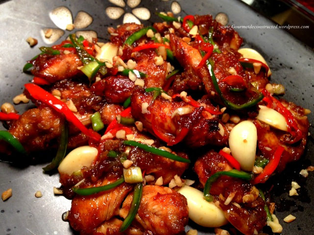 Sweet & Spicy Walnut/Chili Chicken
