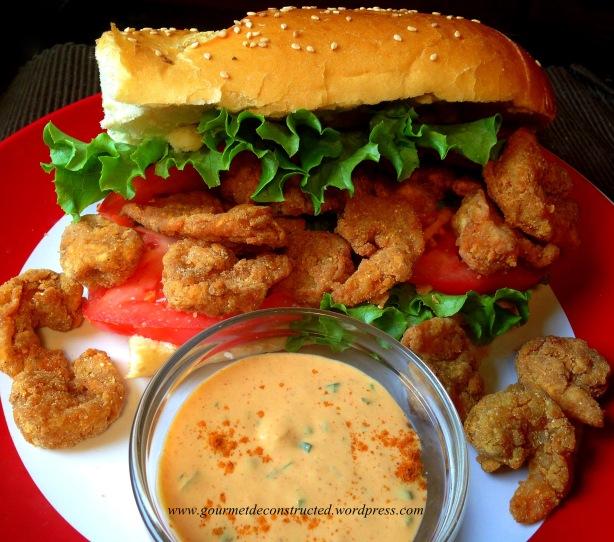 Shrimp Po' Boy w/Spicy Remoulade Sauce | Gourmet De ...