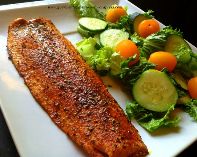 Blackened Salmon Filet