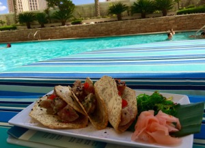 Ahi Tacos at Trump International