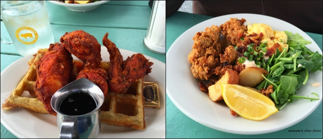 Chicken & Waffles at the Fremont Diner