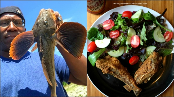 Sea Robin caught and cooked!